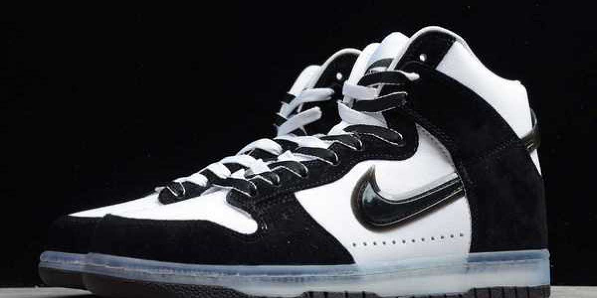 Slam Jam x Nike Dunk High black and white panda color is on sale, are you sure you won't have a pair?