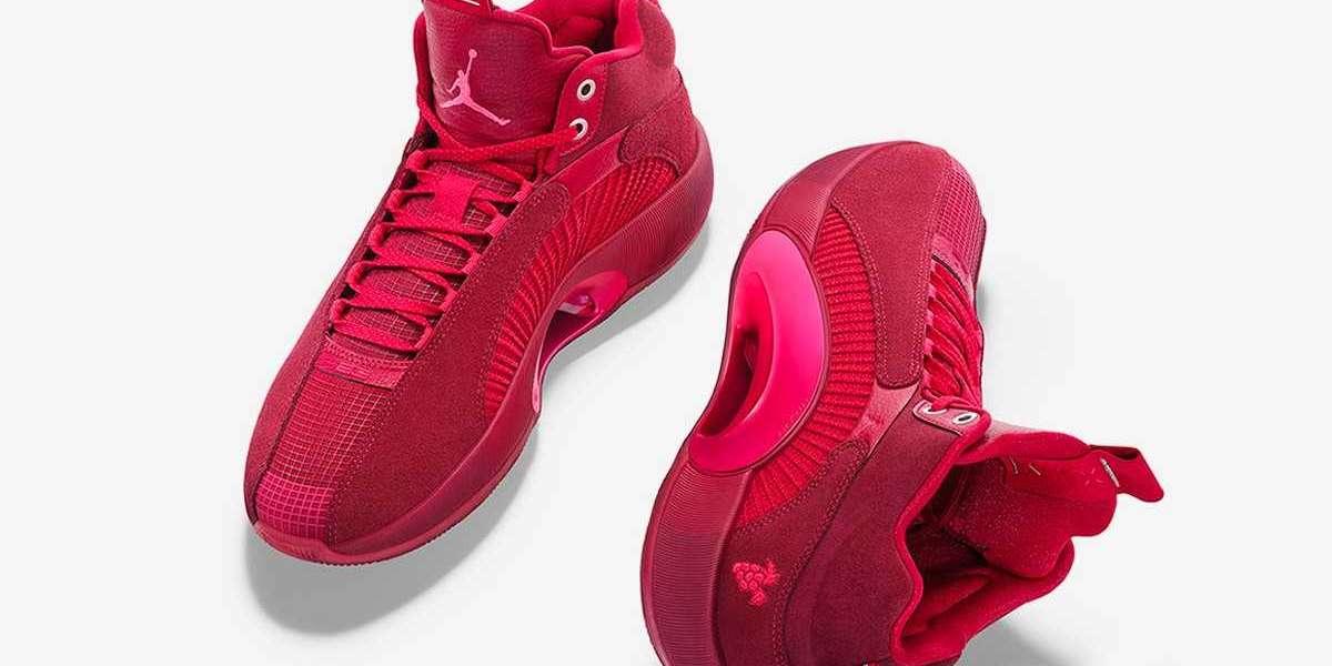 """Brand New Air Jordan 35 """"Carmerlot"""" PE Basketball Shoes"""